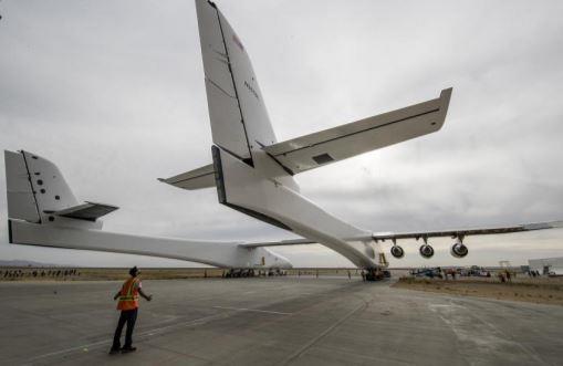 全球最大的复合材料飞机